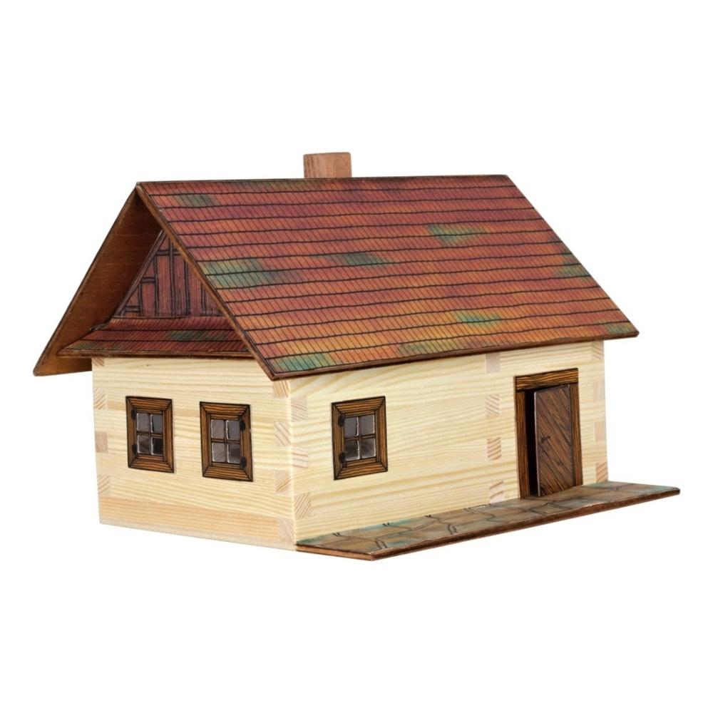 Modellbauset Walachia Nr.26 Brücke Holzmodell Modell für Kinder ab 8 Jahren Bau- & Konstruktionsspielzeug-Sets